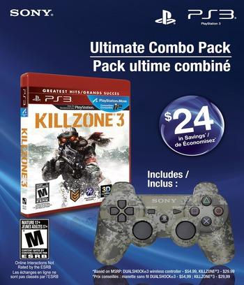 Killzone 3 PS3 coverMB2 (BCUS98234)