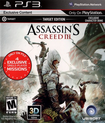 Assassin's Creed III PS3 coverMB2 (BLUS30991)