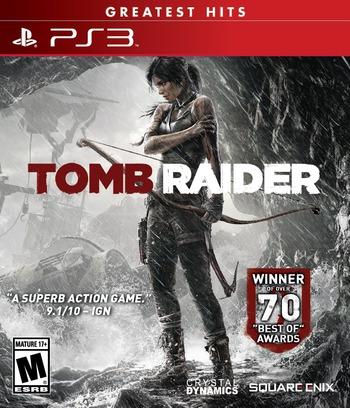 Tomb Raider PS3 coverMB2 (BLUS31036)
