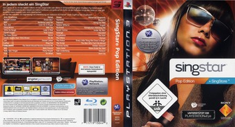 SingStar: Pop Edition PS3 cover (BCES00341)