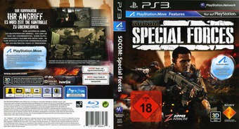 SOCOM: Special Forces PS3 cover (BCES00938)