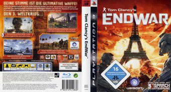 Tom Clancy's EndWar PS3 cover (BLES00326)