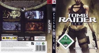 Tomb Raider: Underworld PS3 cover (BLES00409)