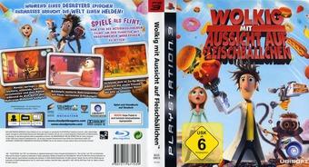 Wolkig mit Aussicht auf Fleischbällchen PS3 cover (BLES00619)