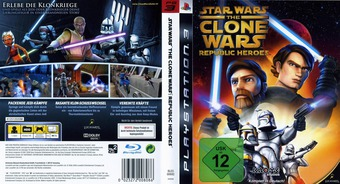 Star Wars The Clone Wars: Republic Heroes PS3 cover (BLES00692)