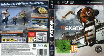 Skate 3 PS3 cover (BLES00760)