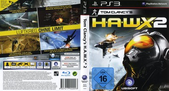 Tom Clancy's H.A.W.X. 2 PS3 cover (BLES00928)