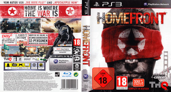 Homefront PS3 cover (BLES00962)