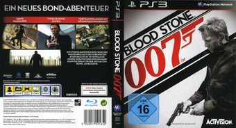 James Bond 007: Blood Stone PS3 cover (BLES01017)