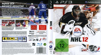 NHL 12 PS3 cover (BLES01357)