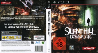 Silent Hill: Downpour PS3 cover (BLES01446)
