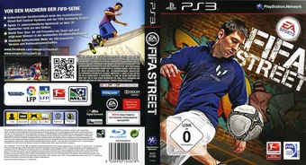 FIFA Street PS3 cover (BLES01493)