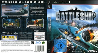 Battleship PS3 cover (BLES01520)