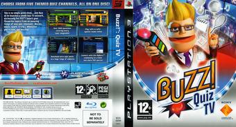 Buzz! Quiz TV PS3 cover (BCES00098)