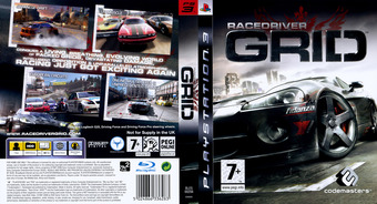 Race Driver Grid PS3 cover (BLES00256)