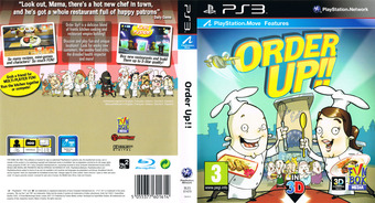 Order Up!! PS3 cover (BLES01470)