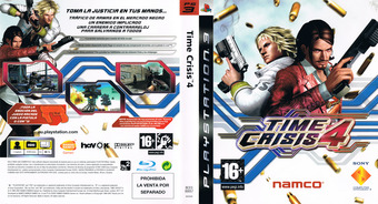 Time Crisis 4 PS3 cover (BCES00057)
