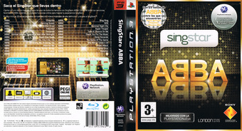 SingStar ABBA PS3 cover (BCES00423)