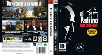 El Padrino:Don Corleone PS3 cover (BLES00047)