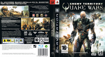Enemy Territory: Quake Wars PS3 cover (BLES00184)