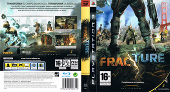 Fracture PS3 cover (BLES00329)
