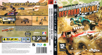 World Championship Off Road Racing PS3 cover (BLES00421)