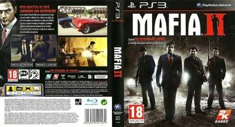 Mafia II PS3 cover (BLES00521)