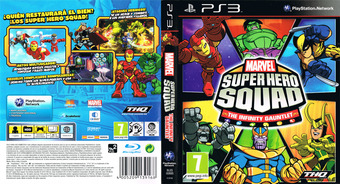 Marvel Super Hero Squad: The Infinity Gauntlet PS3 cover (BLES00895)