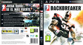 BackBreaker PS3 cover (BLES00944)