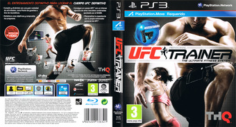 UFC Personal Trainer PS3 cover (BLES01170)