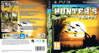 Hunter's Trophy PS3 cover (BLES01217)