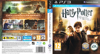 Harry Potter y Las Reliquias De La Muerte - Parte 2 PS3 cover (BLES01307)