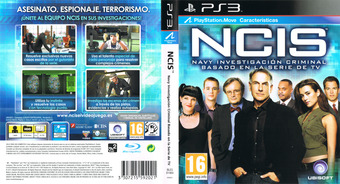NCIS PS3 cover (BLES01460)