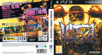 Ultra Street Fighter IV PS3 cover (BLES01900)