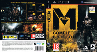 Metro: Last Light - Complete Edition PS3 cover (BLES01999)