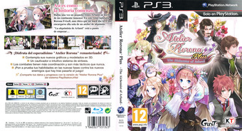 Atelier Rorona Plus: The Alchemist of Arland PS3 cover (BLES02050)