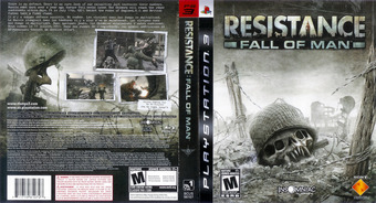 Resistance: Fall of Man pochette PS3 (BCUS98107)