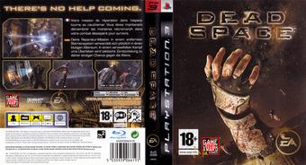 Dead Space pochette PS3 (BLES00309)