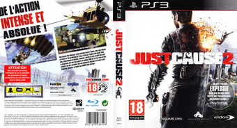 Just Cause 2 pochette PS3 (BLES00517)