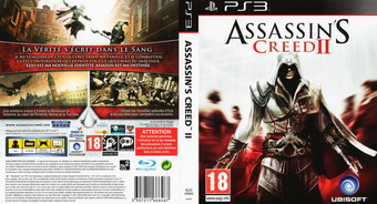 Assassin's Creed II pochette PS3 (BLES00669)