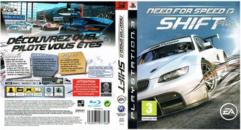 Need for Speed Shift pochette PS3 (BLES00682)