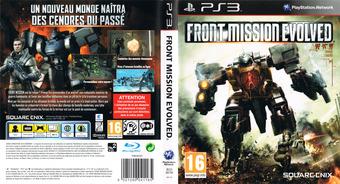 Front Mission Evolved pochette PS3 (BLES00788)