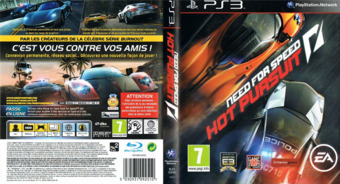 Need for Speed: Hot Pursuit pochette PS3 (BLES00949)