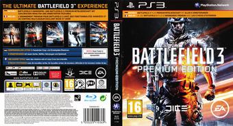 Battlefield 3 pochette PS3 (BLES01275)