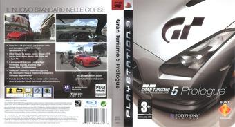 Gran Turismo 5: Prologue PS3 cover (BCES00104)