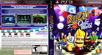 Buzz! Quiz World PS3 cover (BCUS98209)