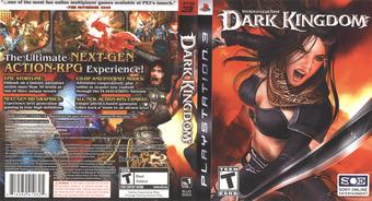 Untold Legends: Dark Kingdom PS3 cover (BLUS30002)