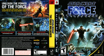Star Wars: The Force Unleashed PS3 cover (BLUS30144)