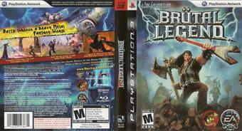 Brutal Legend PS3 cover (BLUS30330)