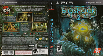 BioShock 2 PS3 cover (BLUS30420)